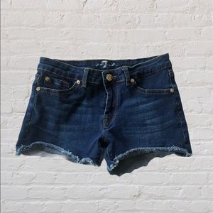 7 For All Mankind Shorts | Indigo Wash Girls 12